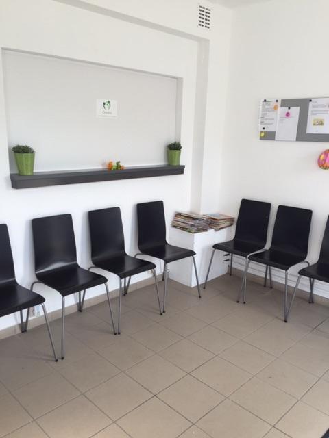 wachtkamer kinesitherapie en logopedie